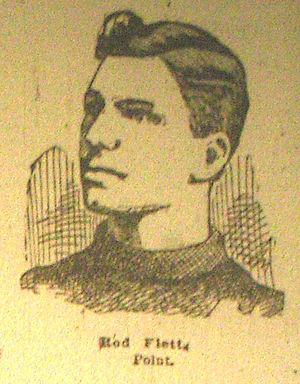 Rod Flett - Rod Flett in 1901.