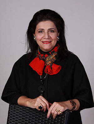 Rodi Kratsa-Tsagaropoulou - Image: Rodi Kraba Tsagaropoulou Greece MIP Europaparlament by Leila Paul 1