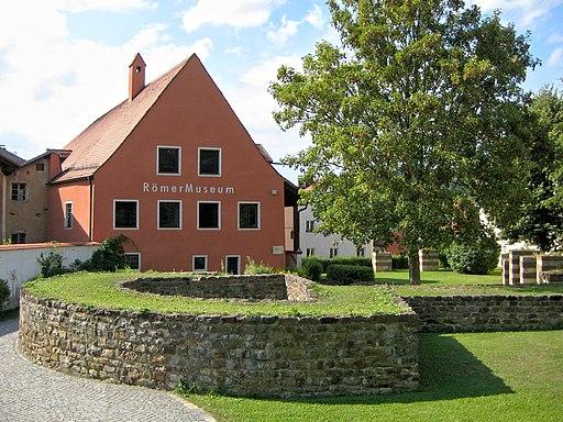 RömerMuseum Kastell Boiotro (Passau); UNESCO-Welterbe Donaulimes.