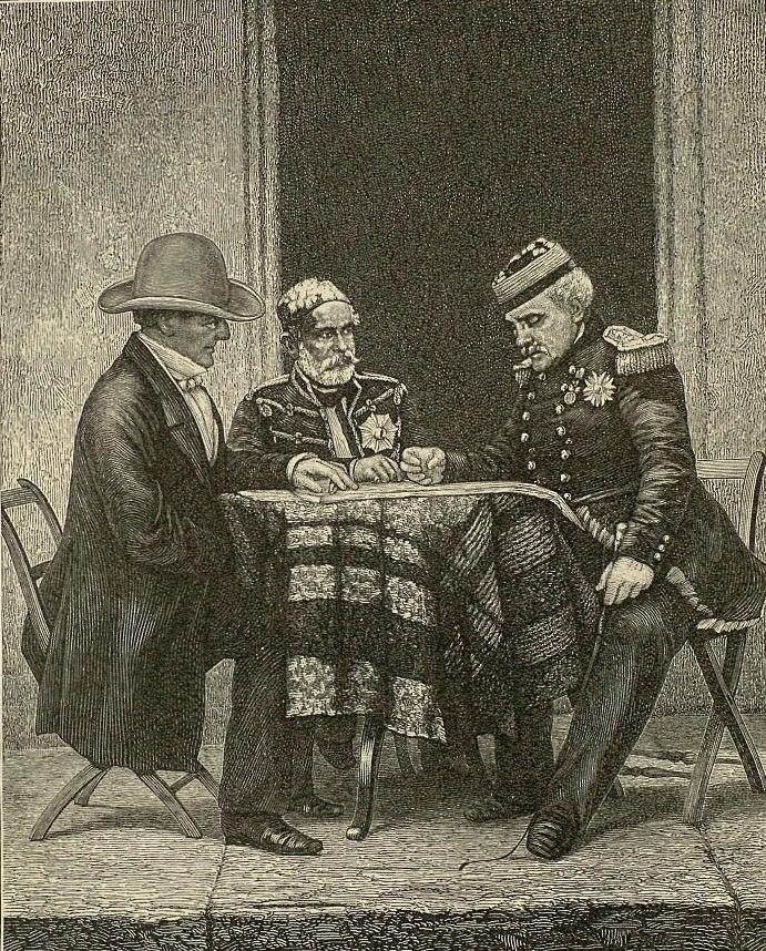 Roglan, Omer-Pasha & Pelisier