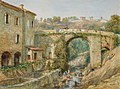 Roman Bridge over the Riou, Cannes - Frances Blake.jpg