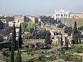 Rome, Domus Sessoriana, uitzicht op Anfiteatro Castrense en San Giovanni in Laterano. - panoramio.jpg