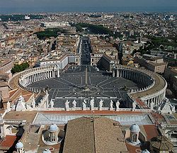Rome st Peters place to East.JPG