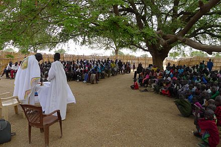 Sunday Mass in the Roman Catholic Diocese of Rumbek Romic.jpg