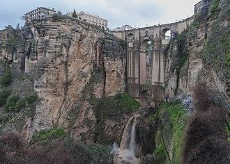 Puente Nuevo - Image: Ronda Spain Puente Nuevo de Ronda 01