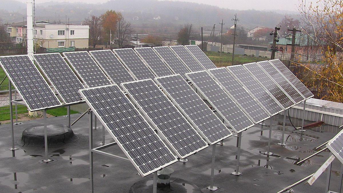 Сонячна енергетика Вікіпедія