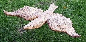 Nederlands: Roofvogel Materiaal: lindehout Beh...