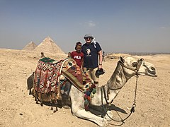 Rosset and the camel.jpg