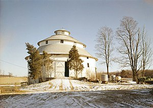 Thomas Ranck Round Barn - Thomas Ranck Round Barn in Indiana.