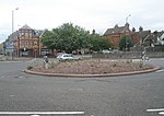File:Roundabout at the top end of Onslow Street - geograph.org.uk - 1394950.jpg
