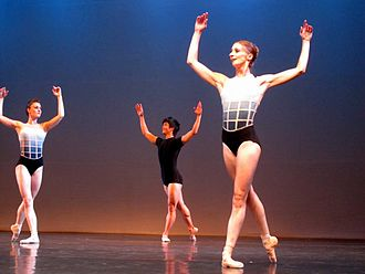 Royal Winnipeg Ballet - From left to right: Amanda Green, Yosuke Mino, and Vanessa Lawson
