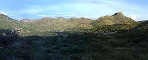 Ruby, Arizona - Ruby AZ, with view of Montana Peak