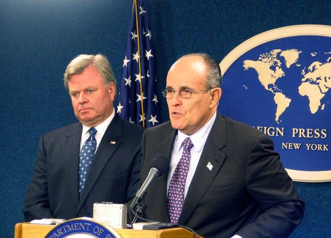 Rudy Giuliani New York After 9-11