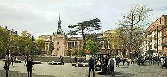 Capitole de Toulouse - The Capitole back side