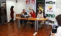 Rueda de prensa conjunta del Canciller Patiño y las Ministras Espinosa y Aguiñaga, sobre los resultados de la COP 16 en Cancún (5257909205).jpg