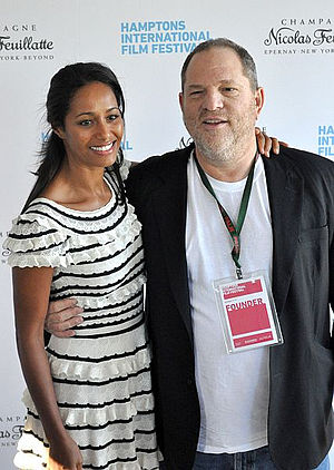Harvey Weinstein - Weinstein and Rula Jebreal in 2010