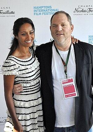 Harvey Weinstein - Weinstein and Rula Jebreal in 2010