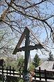 Rumunia, Desesti, krzyż nagrobny na cmentarzy przycerkiewnym - DSCF7150.jpg