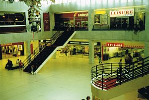 Runcorn Shopping City - Runcorn Shopping City in August 1989