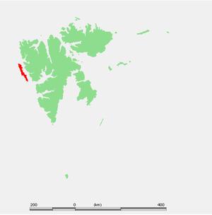 Prins Karls Forland - Prins Karls Forland in Svalbard