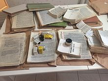 Russian samizdat and photo negatives of unofficial literature in the USSR.jpg