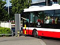 Ruzyně, letiště, autobus u závory (02).jpg
