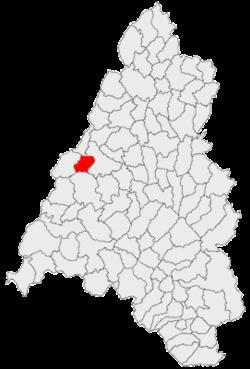 Vị trí của Sântandrei