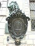 Südlichster Löwe vor der Residenz München-Front.JPG