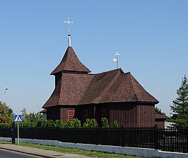 Słupca, Greater Poland, church of Saint Leonard.jpg