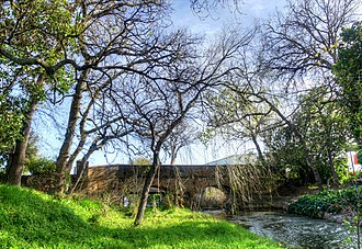 Somerset West - The Old Lourens River Bridge is a provincial heritage site.