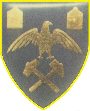 Regiment Paul Kruger - SANDF Regiment Paul Kruger emblem