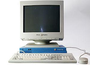 English: SGI Indy Workstation with original 17...