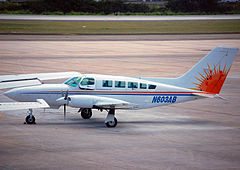 Cessna 402C w barwach Air Sunshine