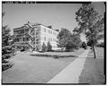 SOUTH AND EAST FACING SIDES. - Hill Field, Barracks and Post Exchange, 5887 D Avenue, Layton, Davis County, UT HAER UTAH,6-LAY.V,2G-3.tif