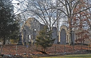 Hardwick Township, New Jersey - Spring Valley Christian Church Site
