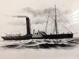 SS Mona (1832) - Image: SS Mona