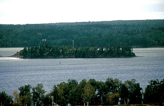 Saint Croix Island, Maine - Image: ST. CROIX ISLAND INTERNATIONAL HISTORIC SITE, WASHINGTON COUNTY, MAINE
