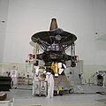 STS-34 Galileo processing at KSC's SAEF-2 planetary spacecraft facility (S89-42091).jpg
