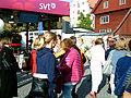 SVTs scen bakom Burmeisterska huset Almedalsveckan 2014 Visby.jpg