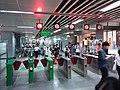 SZ 深圳 Shenzhen 羅湖 Luohu night 國貿站 Guomao Station pay control gates August 2018 SSG (2).jpg
