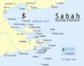 Sabah-Islands-DarvelBay PulauTabawan-Pushpin.png