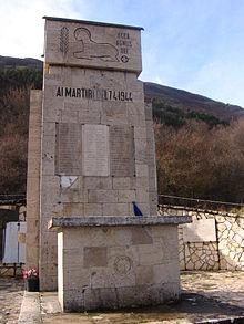 Monumento ai Martiri del 7 aprile 1944