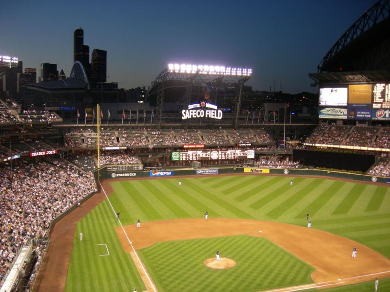 Safeco Field (Wikimedia Commons)