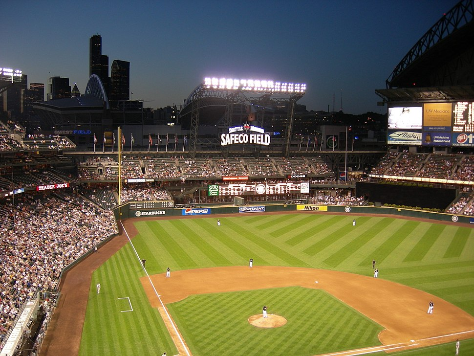 Safeco Field night