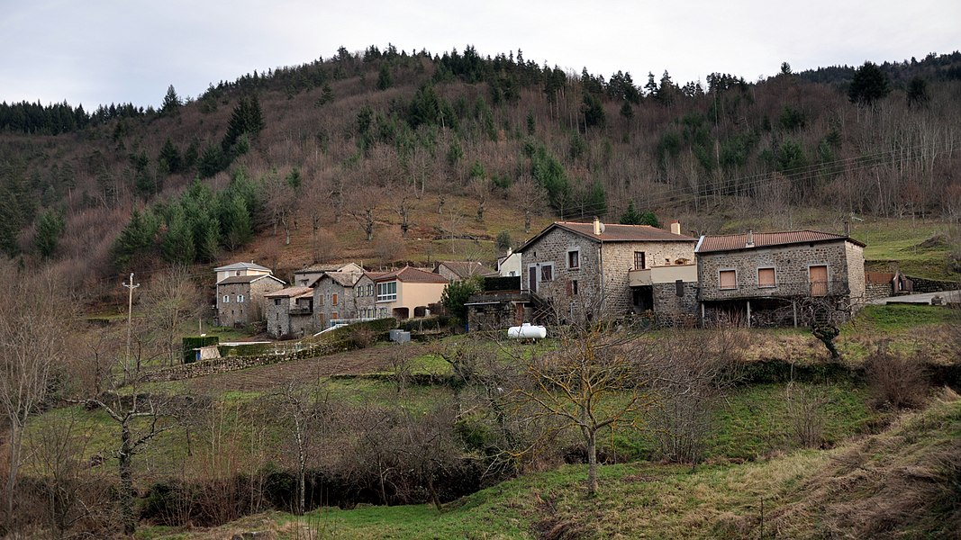 Saint-Christol depuis la D277