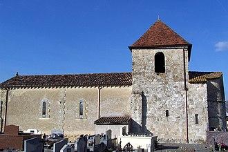 Sauveterre-de-Guyenne - Image: Saint Romain de Vignagne Église 02
