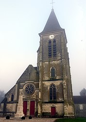 The church of Billy-sur-Ourcq