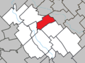 Sainte-Hénédine Quebec location diagram.png