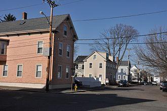 Bridge Street Neck Historic District - Image: Salem MA Cross Street
