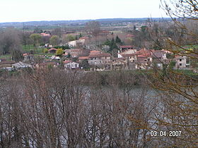 Vue du centre du village